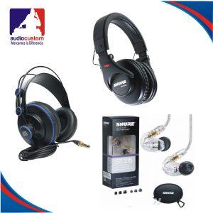 Audífonos para Monitoreo