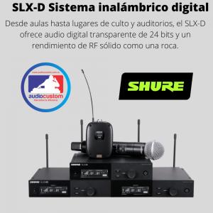 Linea Shure SLX-D